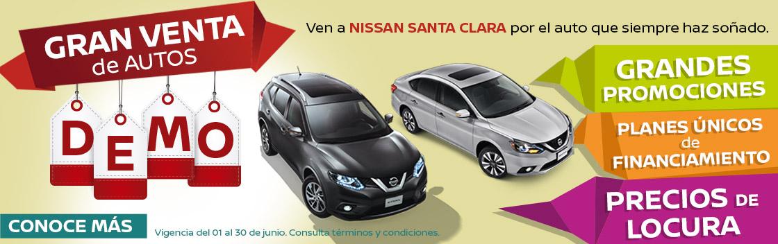 Venta De Autos >> Gran Venta De Autos Demo Nissan Santa Clara Ecatepec De Morelos