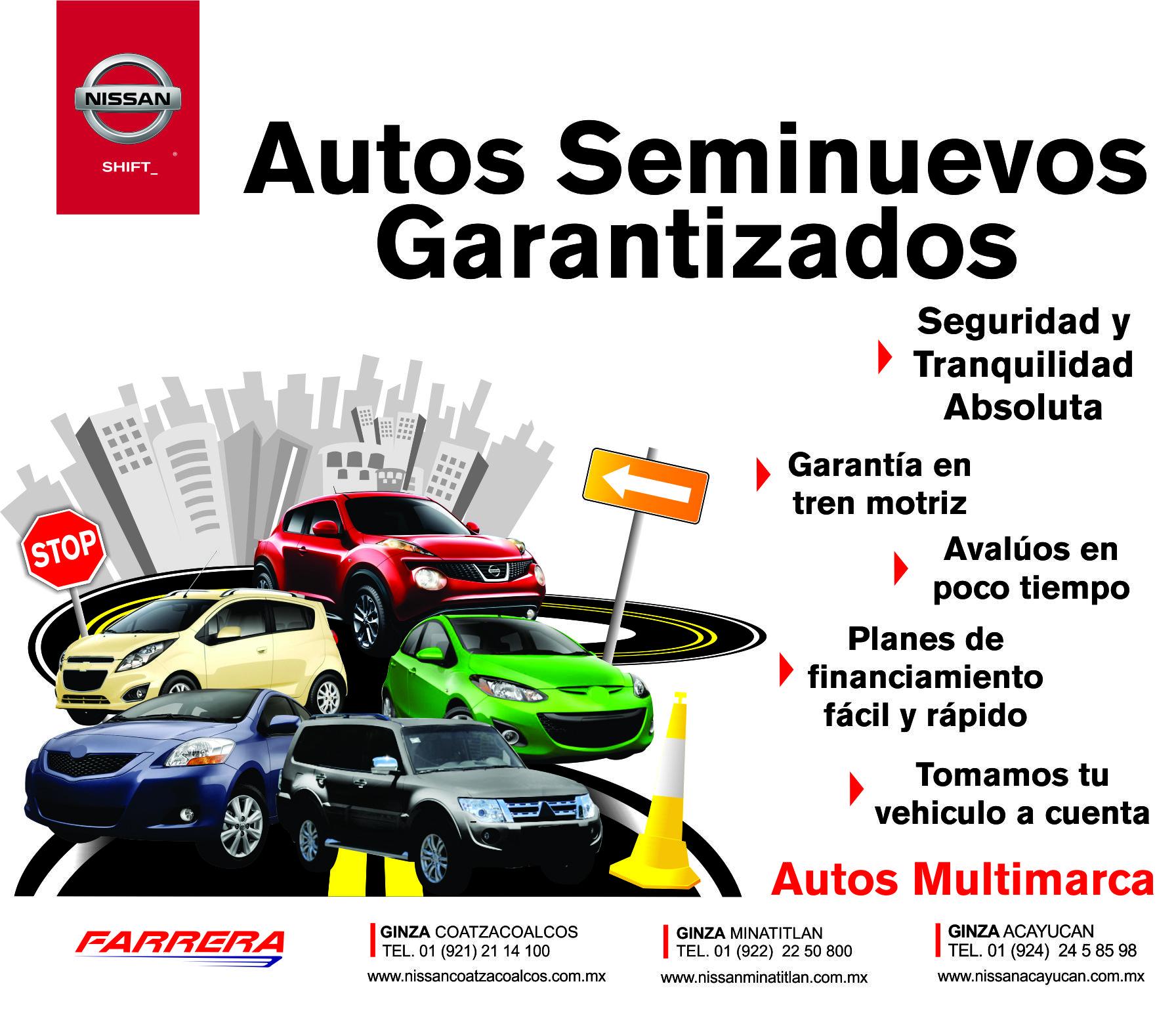 5e82f206c Autos Seminuevos Garantizados - Nissan Ginza Coatzacoalcos - Coatzacoalcos,  Veracruz