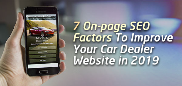 On_Page_SEO_Factors_for_Auto_Dealership