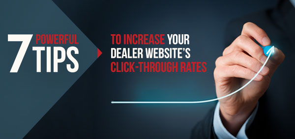 Increase your Dealer Website's Click-Through Rates