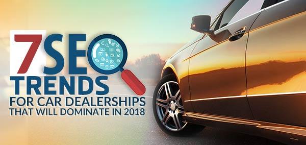 Auto Dealer SEO Trends