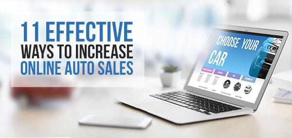 Online Auto Sales >> 11 Effective Ways To Increase Online Auto Sales Izmocars