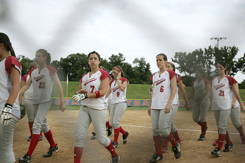 The 2009 Naperville Central Redhawks leave the field after their 2-0 loss to Edwardsville during their Class 4A semi-final game on Friday evening at the Eastside Centre fields in East Peoria. Kevin Sherman/ksherman@dailyherald.com/©Daily Herald