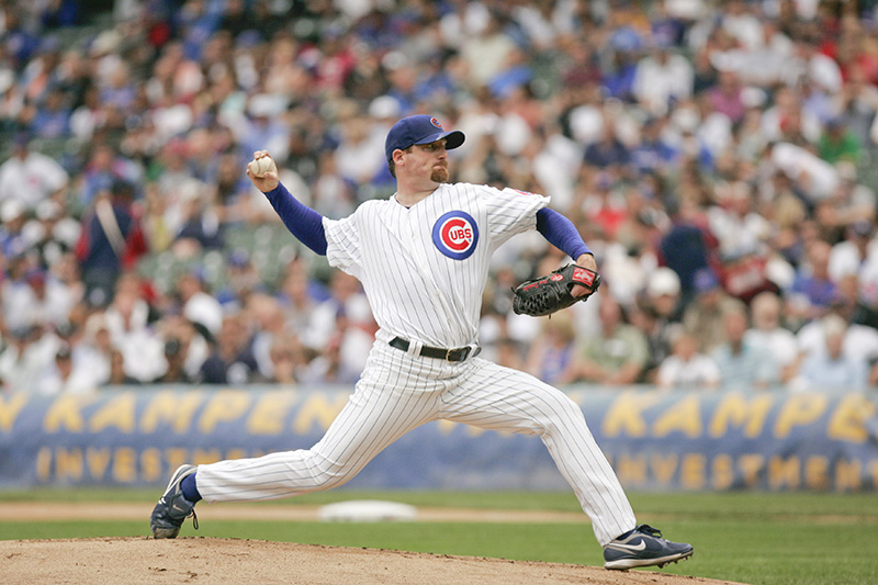 The Cubs starting pitcher Ryan Depster throws against the Sox in the Crosstown Classic on Wednesday afternoon at Wrigley Field. Kevin Sherman/ksherman@dailyherald.com/©Daily Herald