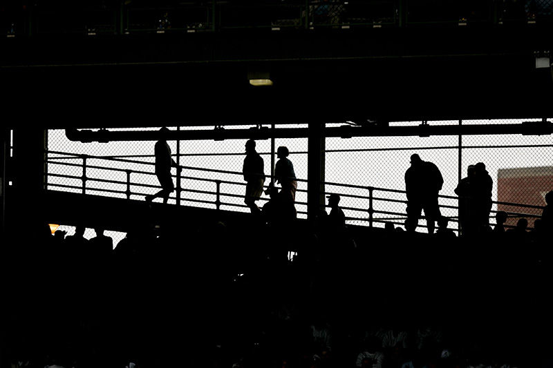 Fans walk up to Upper Deck at Wrigley Field during the Crosstown Classic between the Cubs and White Sox on Wednesday afternoon. Kevin Sherman/ksherman@dailyherald.com/©Daily Herald