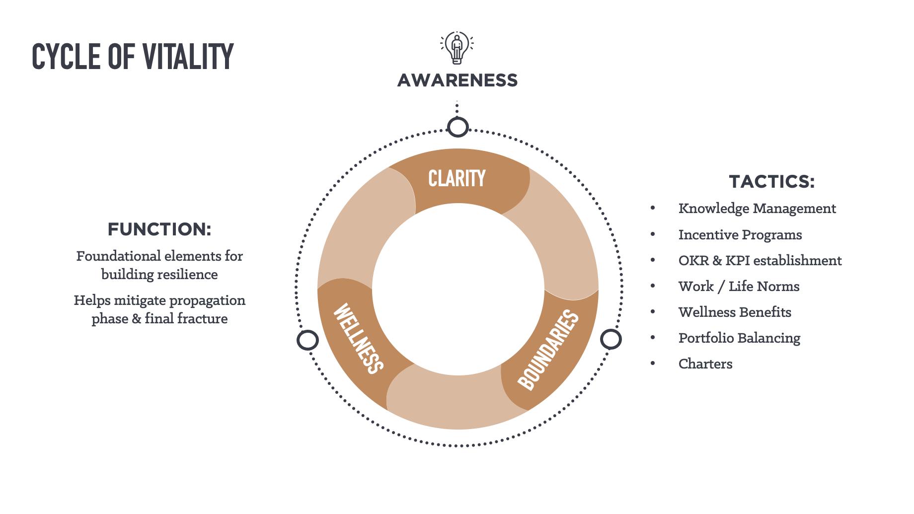 Phase 2 of the Vitality Model: Clarity, Boundaries & Wellness