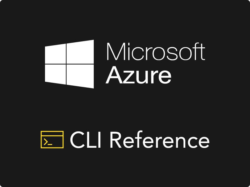 Serverless Framework Microsoft Azure CLI Reference