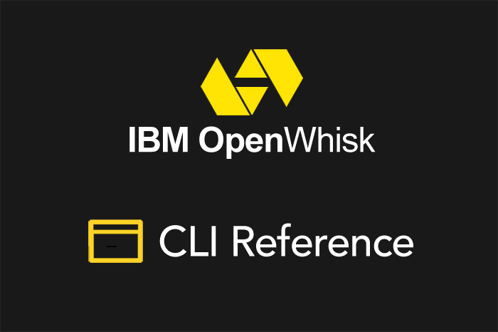 Serverless Framework Apache OpenWhisk CLI Reference