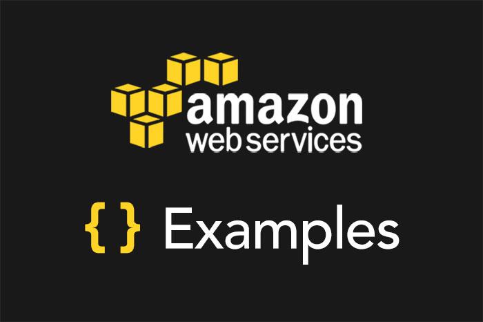 Serverless Framework AWS Lambdxxxxa Examples