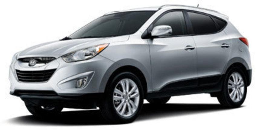 2012. Hyundai. Tucson