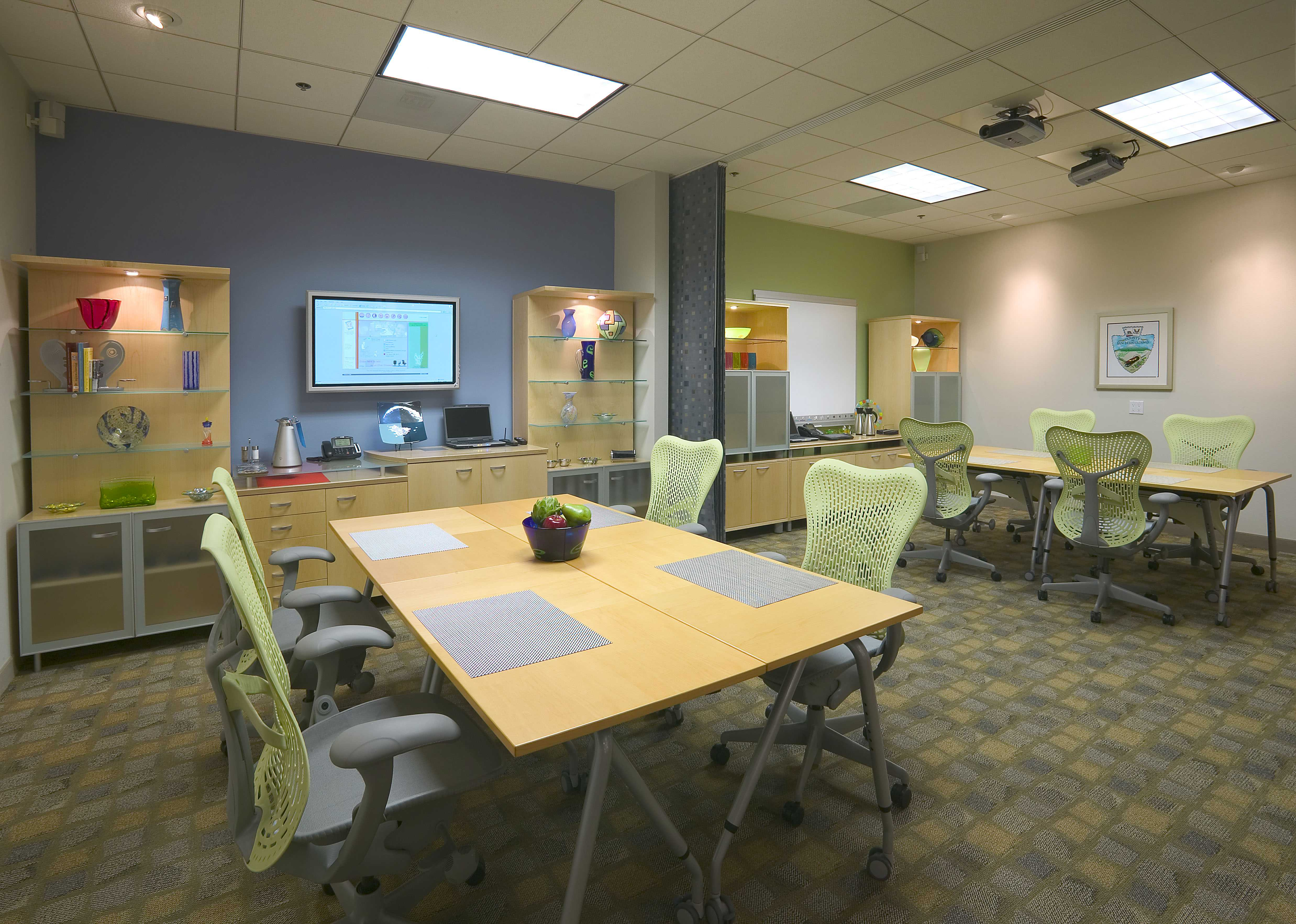 Client, Goforth and Marti Business Interiors. Location, Riverside, CA