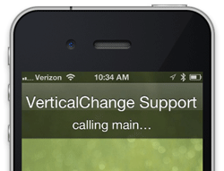 Verticalchange support