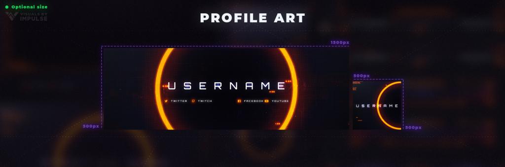 Twitch Profile Art Size