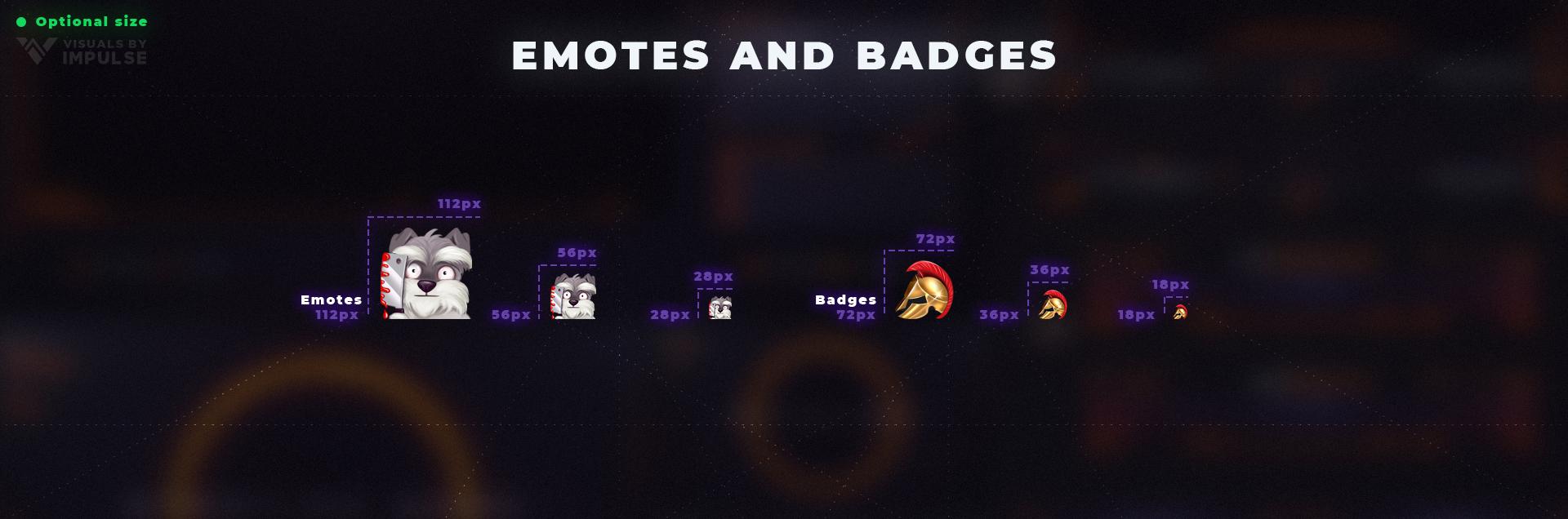 Emotes Badges