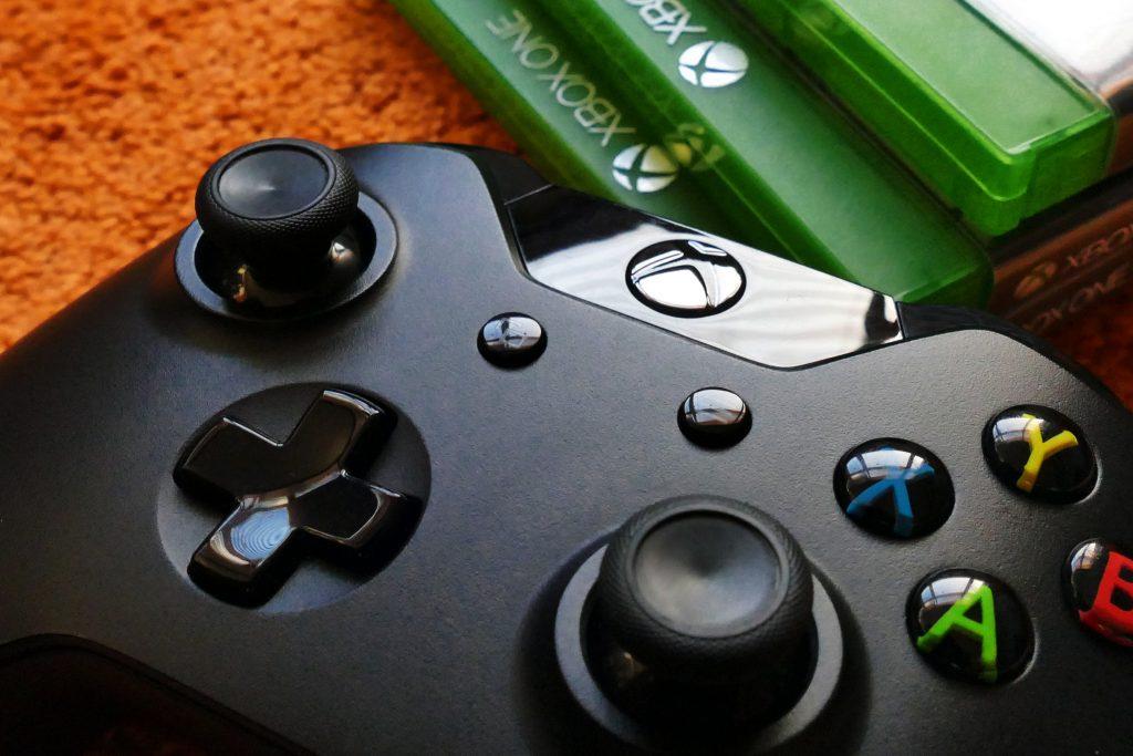 Close up XBOX Controller