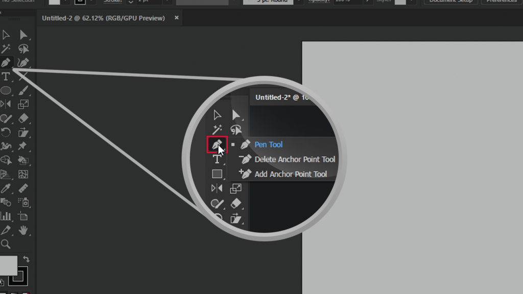 Pen Tool Add Remove Anchor Point