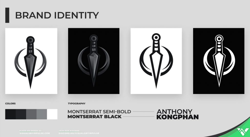 Anthony Kongphan Logo Design