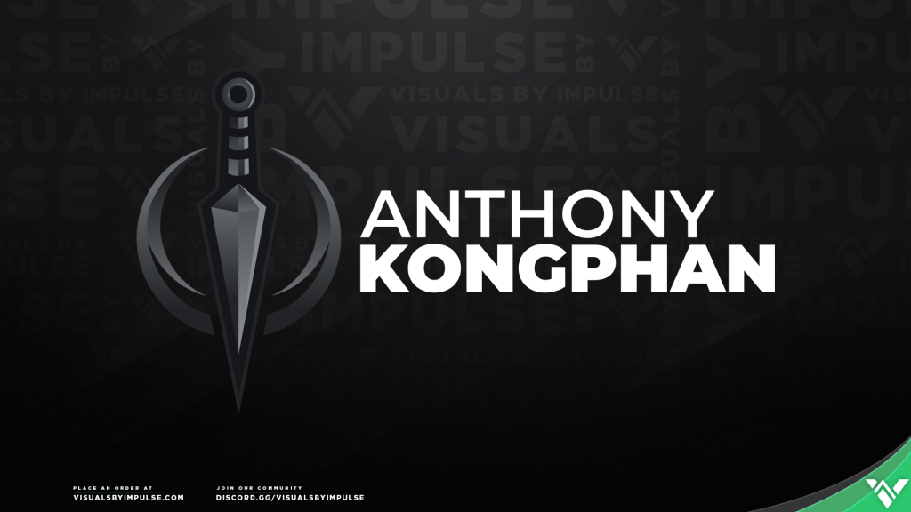 Anthony Kongphan Custom Brand Logo