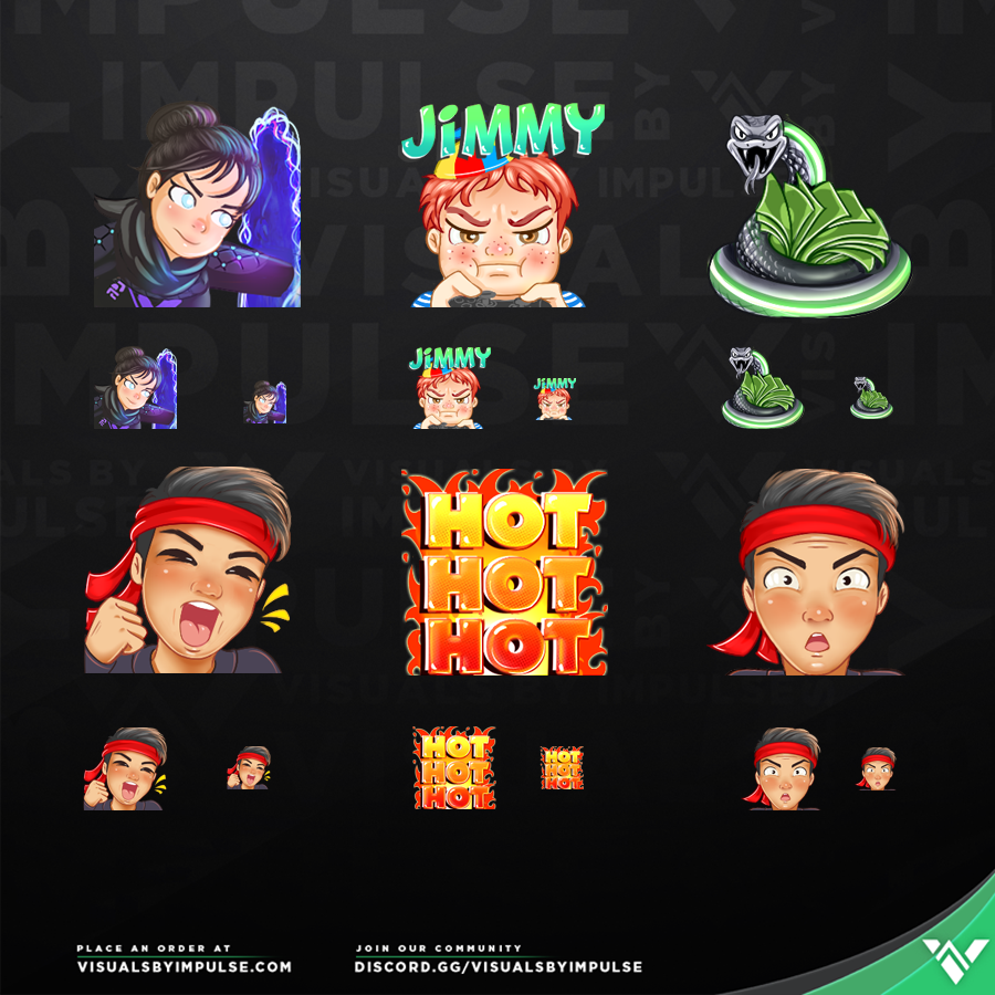Anthony Kongphan Custom Twitch Emotes
