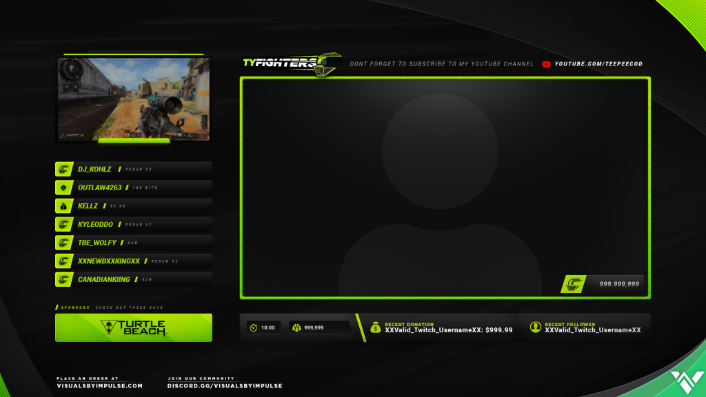 Tyler OpTic TeeP Intermission Screen