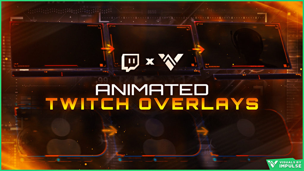Animated Twitch Overlays Look Like The Pros