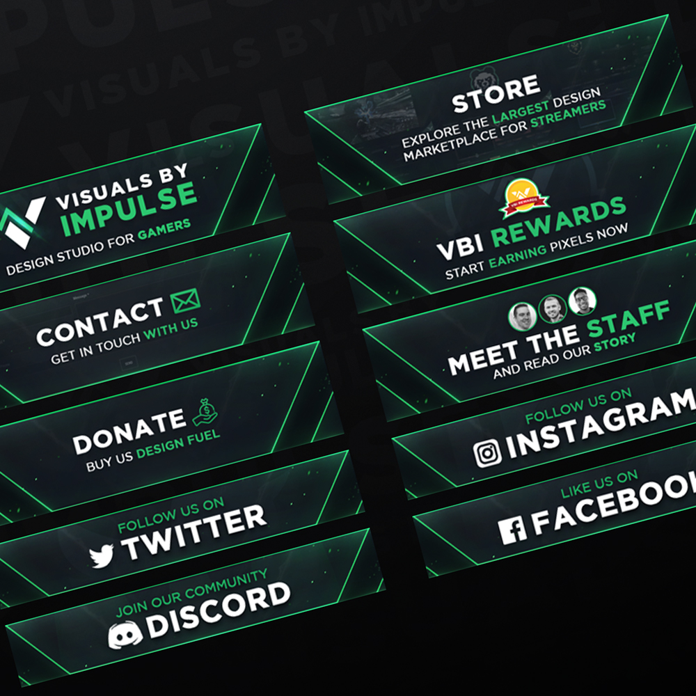 VBI Twitch Panel Designer
