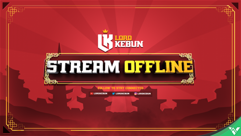 Lord Kebun Twitch Offline Screen