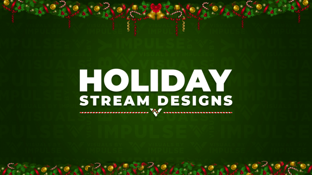 6 Must Have Christmas Stream Overlays for the Holiday Season