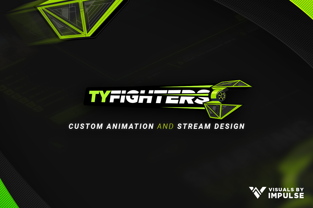 OpTic TeeP Custom Stream Design + Animation