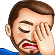 Facepalm Emote