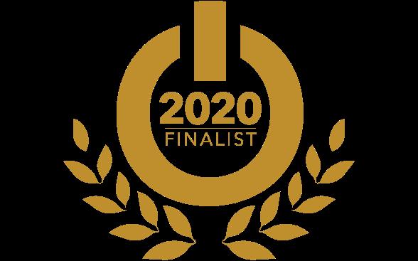 Esports Awards 2020 golden wreath banner