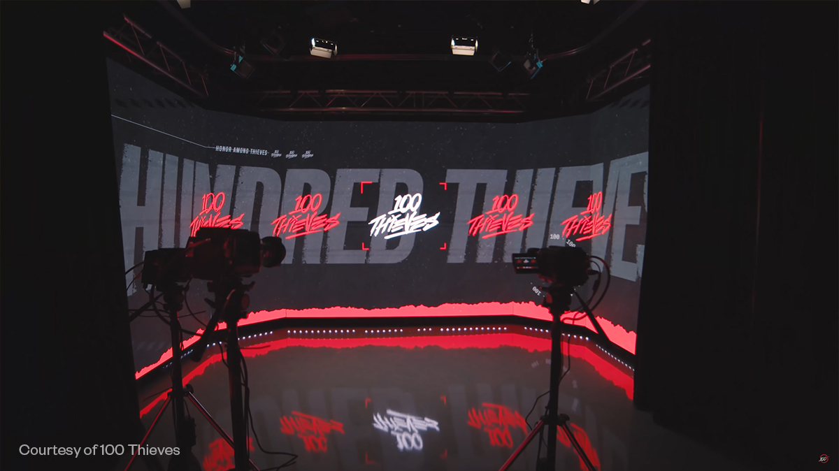 100 Thieves Compound Podcast Set