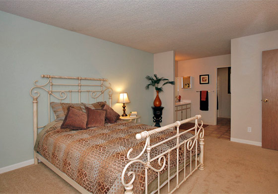 Reno apartments offering spacious bedrooms