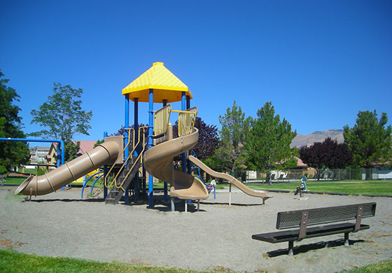 Your children can enjoy the playground at our apartments in Reno