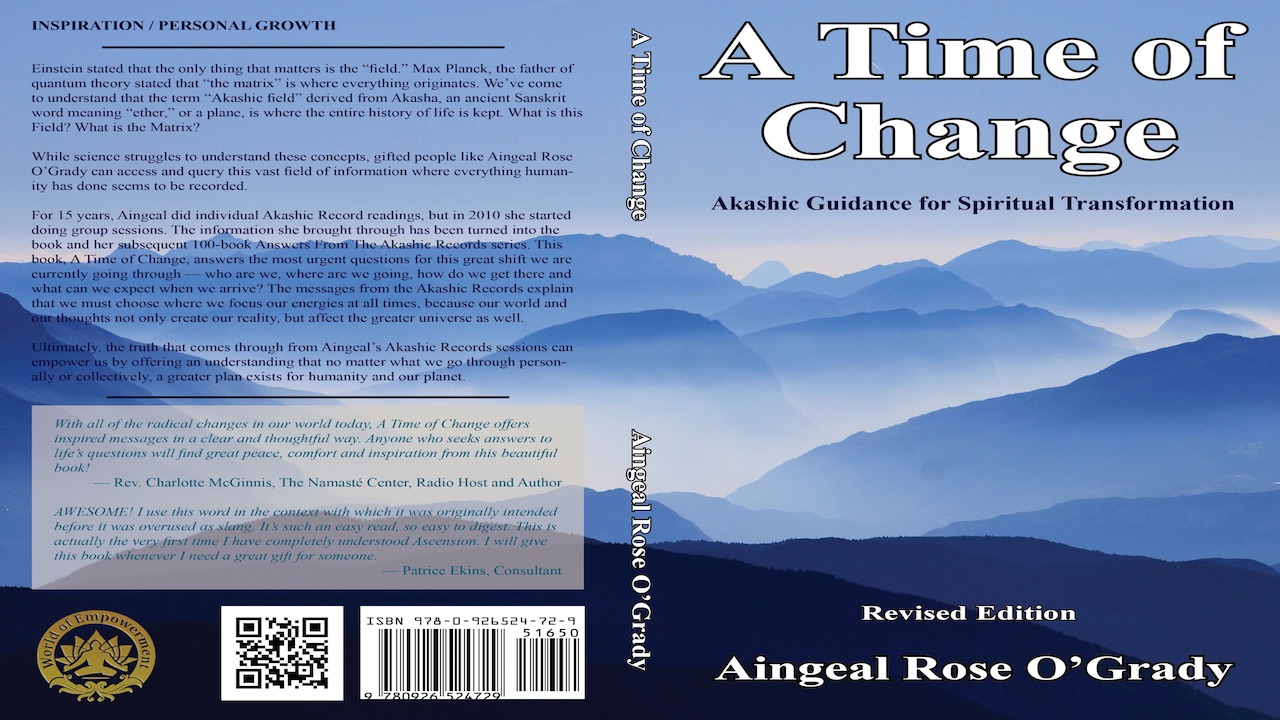 A Time of Change by Aingeal Rose & Ahonu