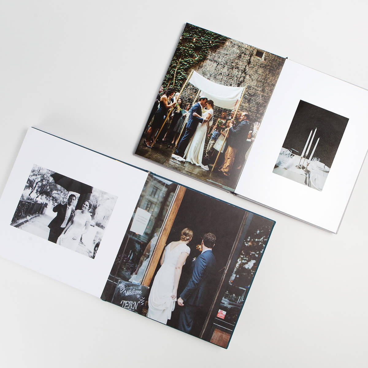 Wedding photo book layout ideas