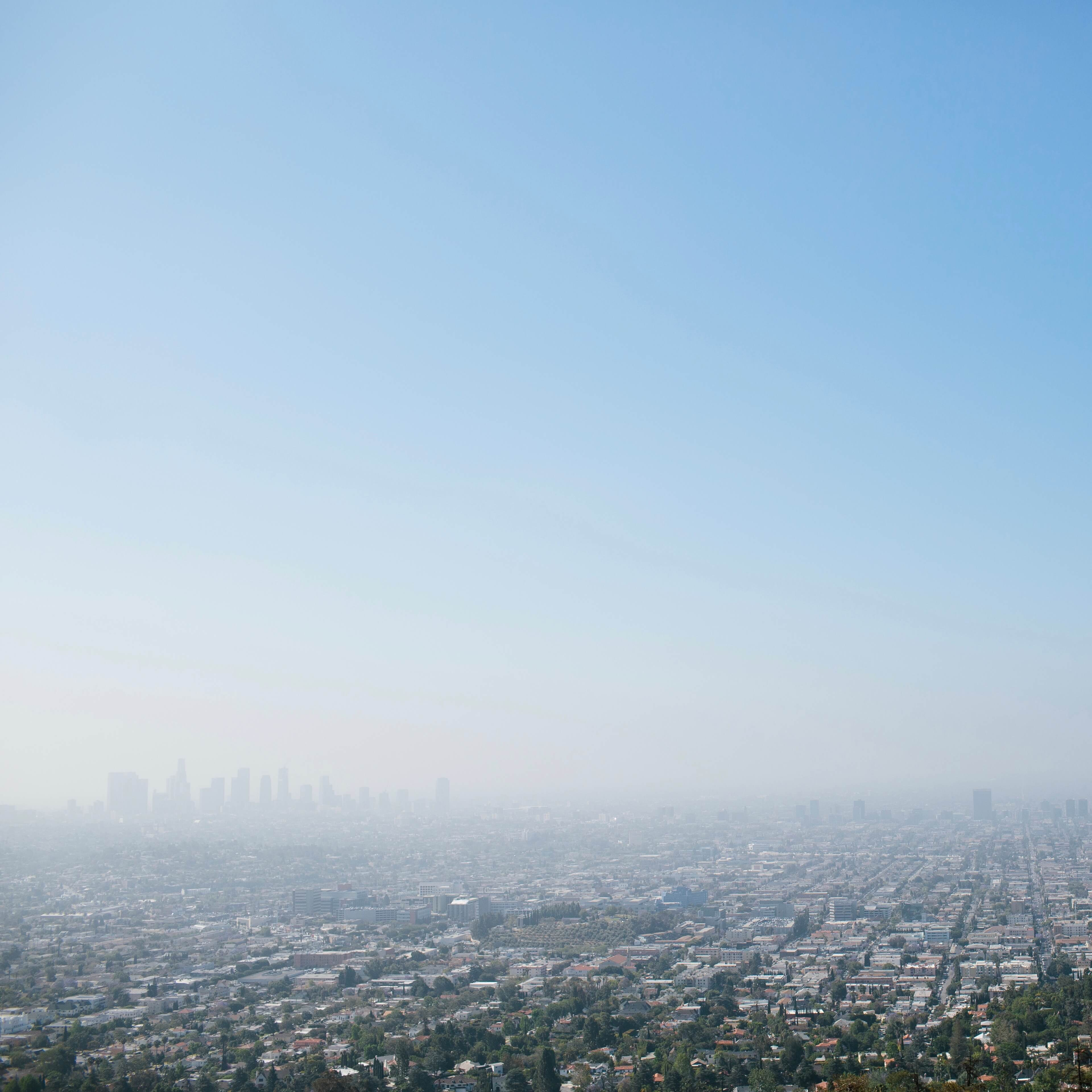 Photo of the city from Griffith Observatory in Los Angeles