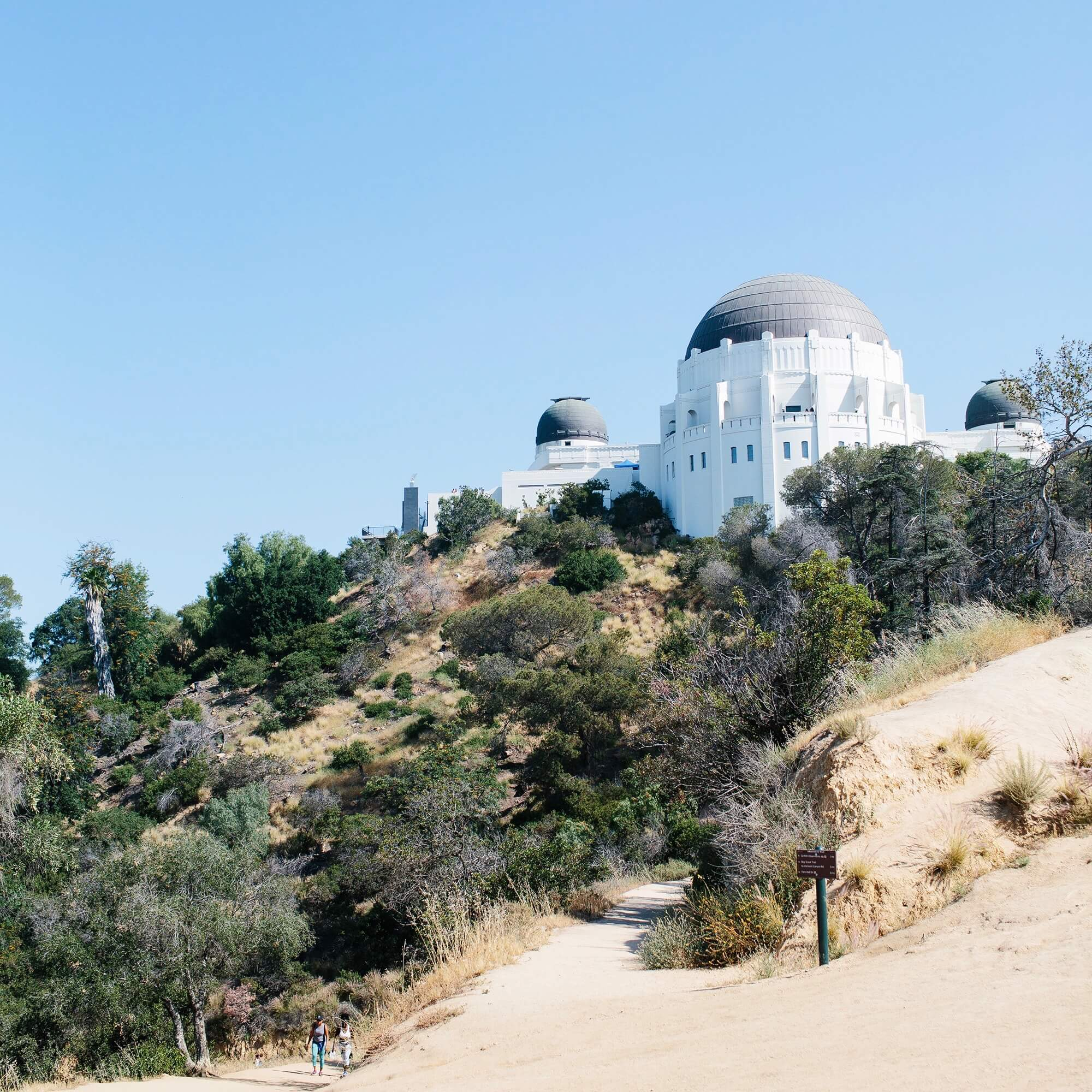 Griffith Observatory during the day