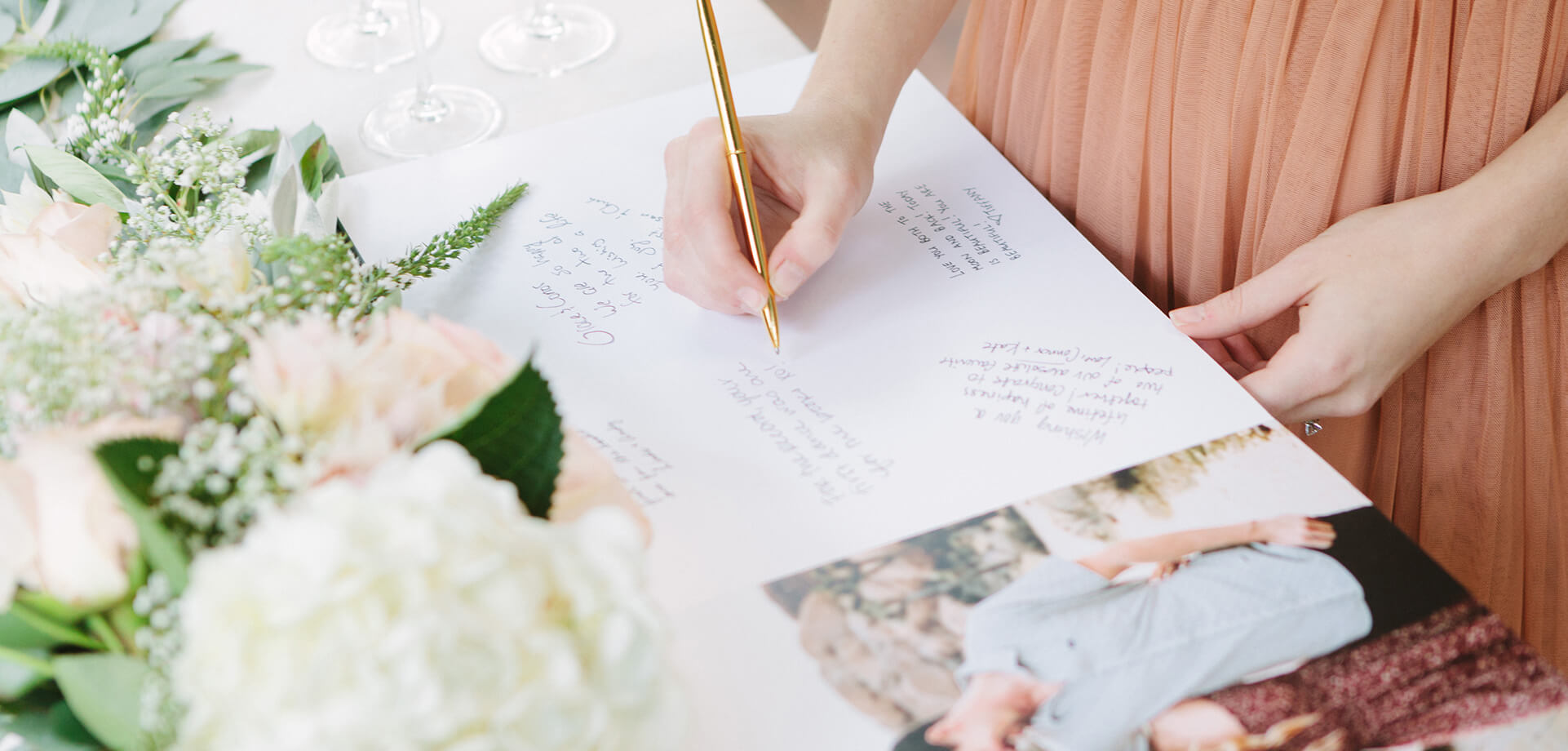 5 Tips for Creating Your Custom Wedding Guest Book