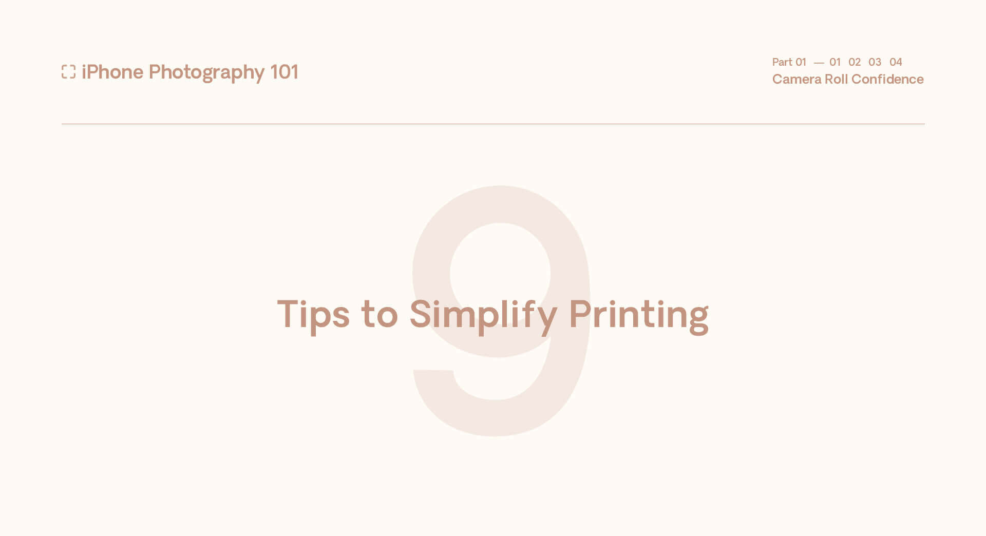 9 Tips to Simplify Printing