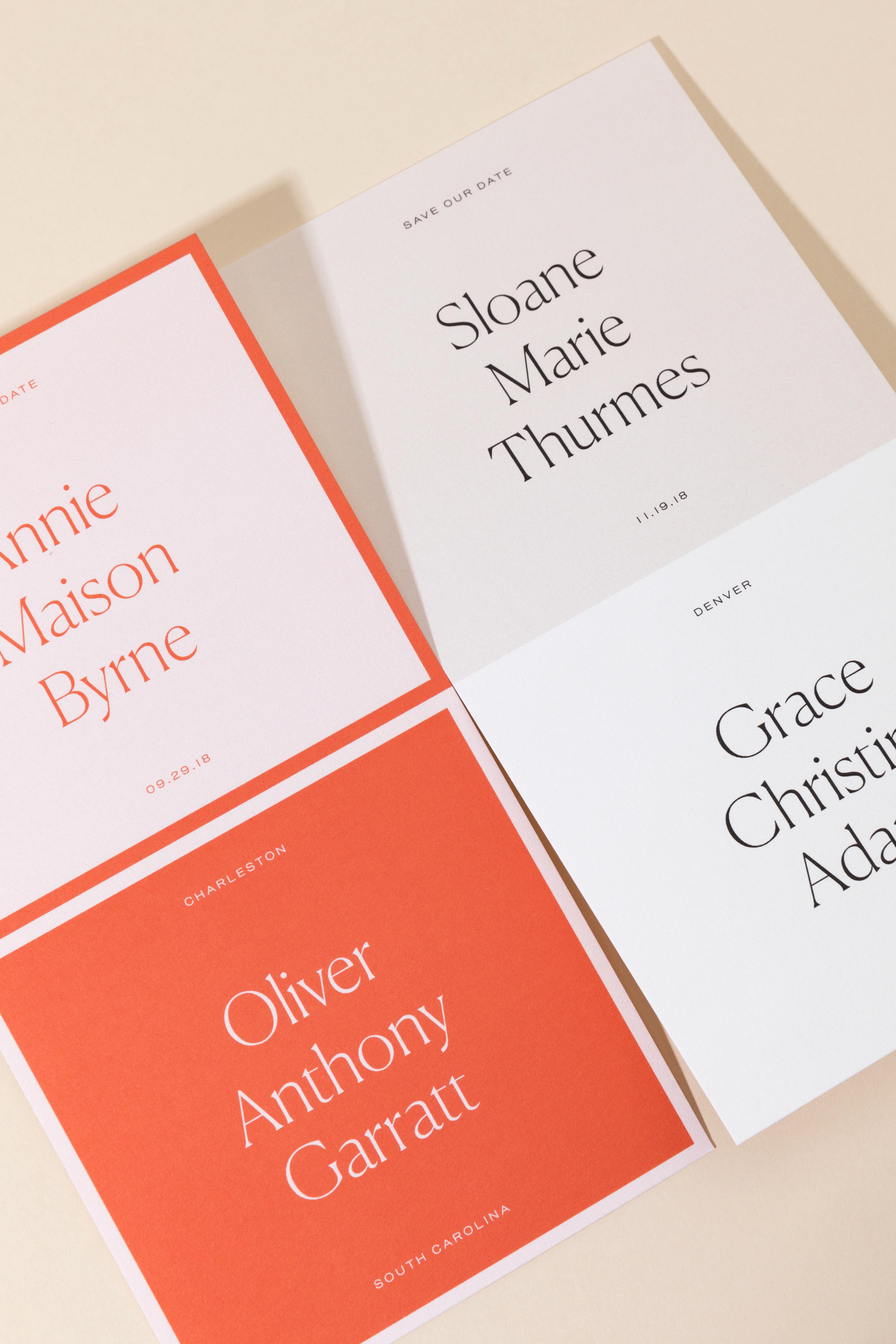 Wedding Card Print Styles 101