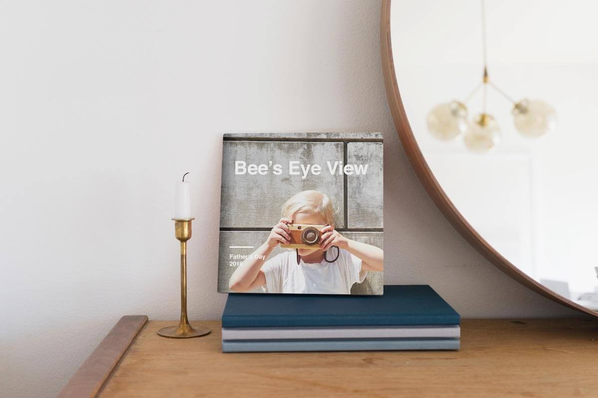Make a Hardcover Photo Book