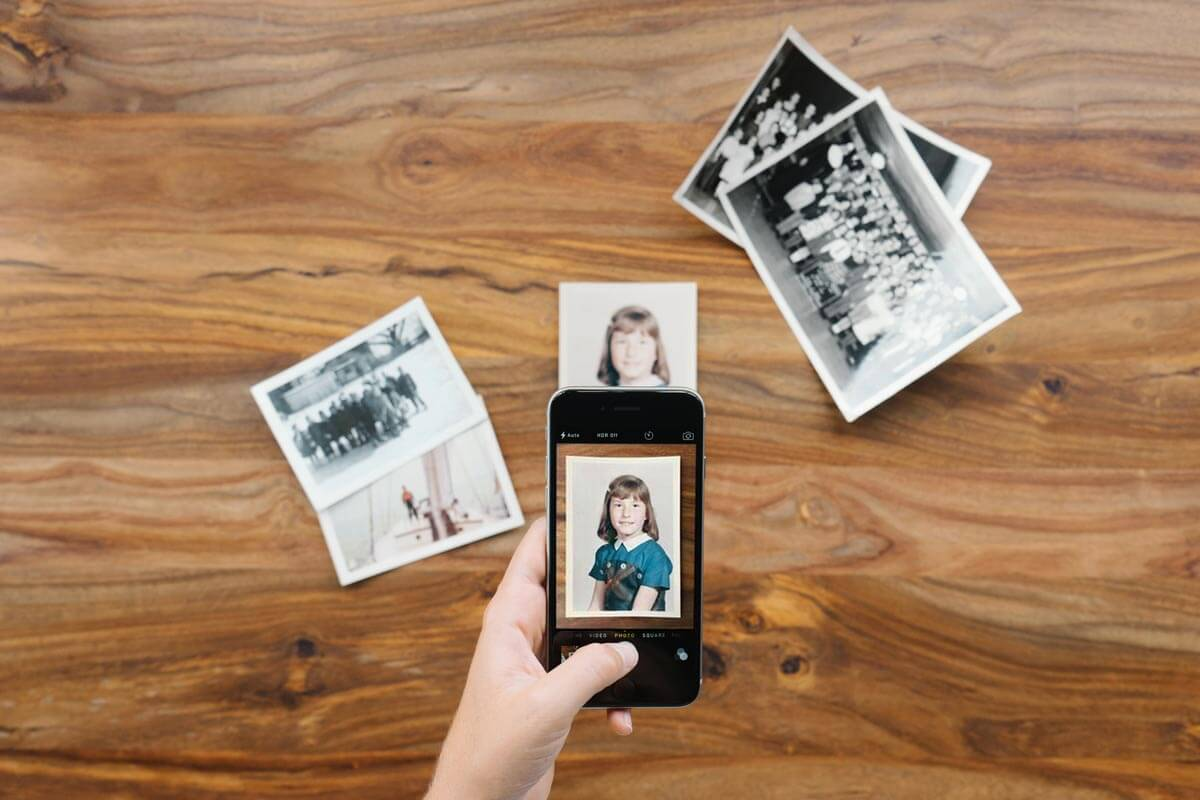 Photo scanning apps for digitizing old photos