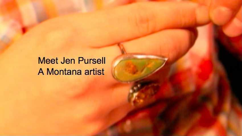 Meet Jen Pursell - A Montana Artist