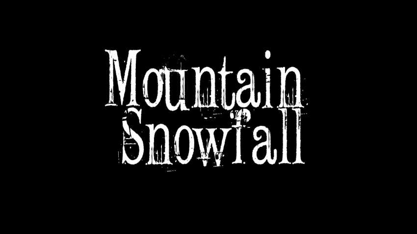 Mountain Snowfall