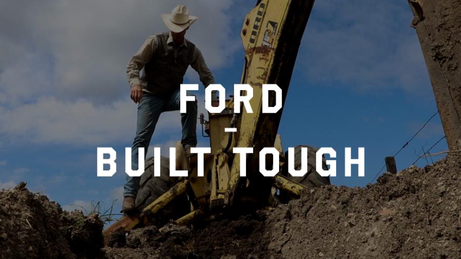 The Ford Backhoe - Built Tough