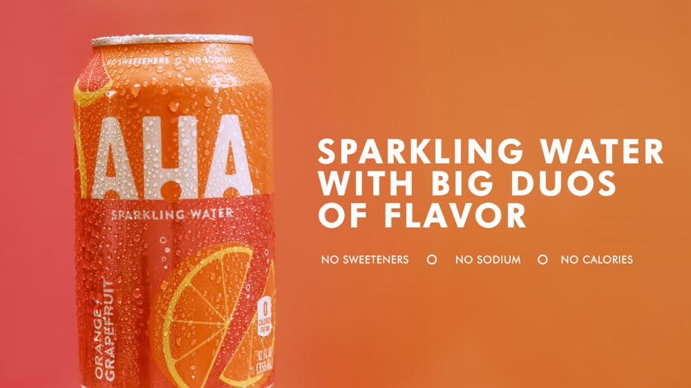 AHA OrangeGrape Ad