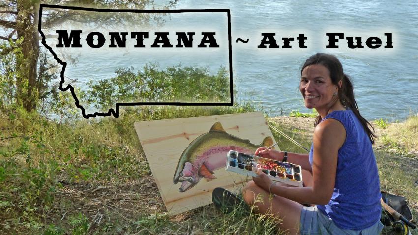 Montana ~ Art Fuel