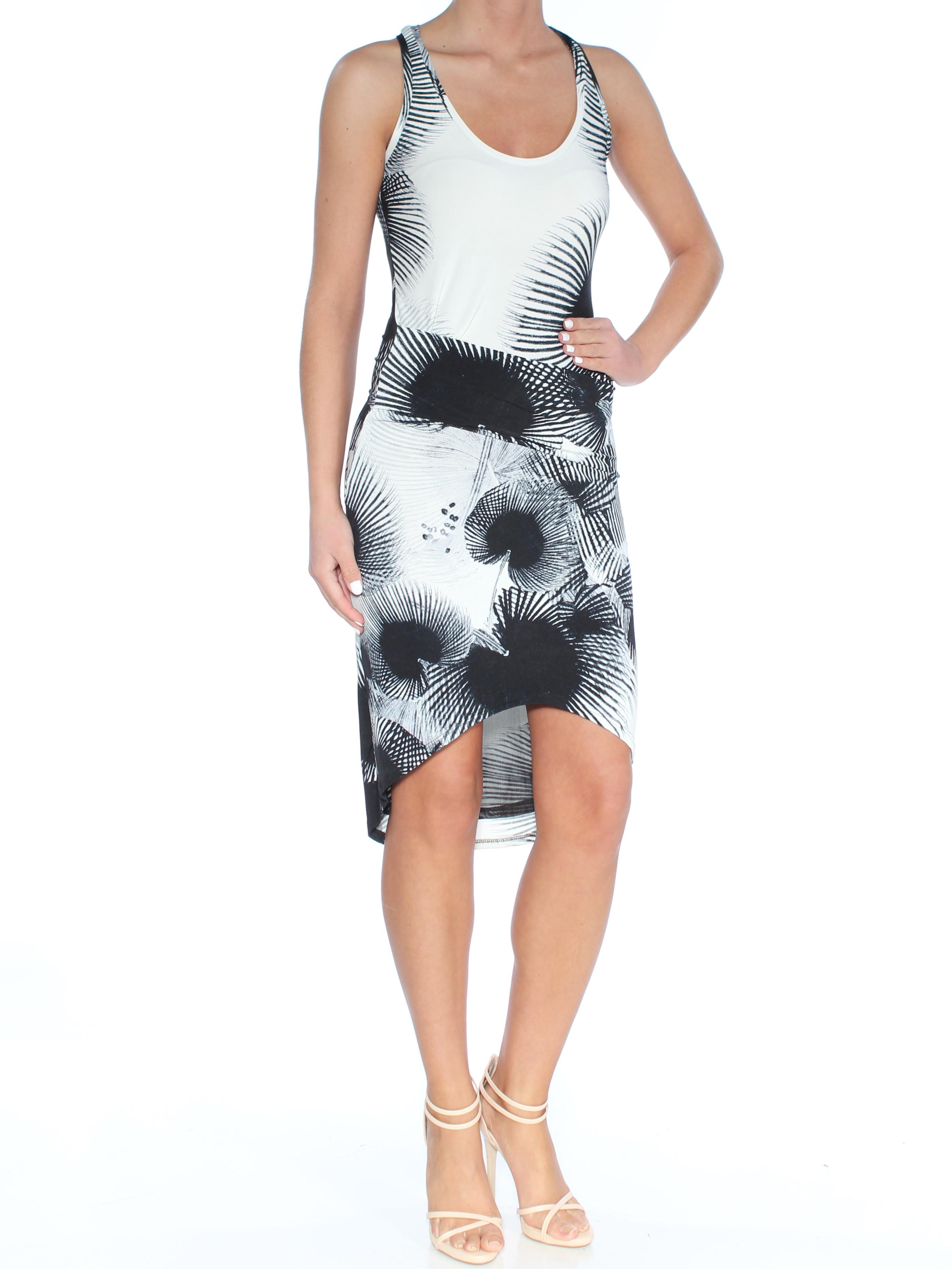 96134d99a60 RACHEL ROY  99 Womens New 1457 Black Printed Hi-lo Body Con Dress XS ...