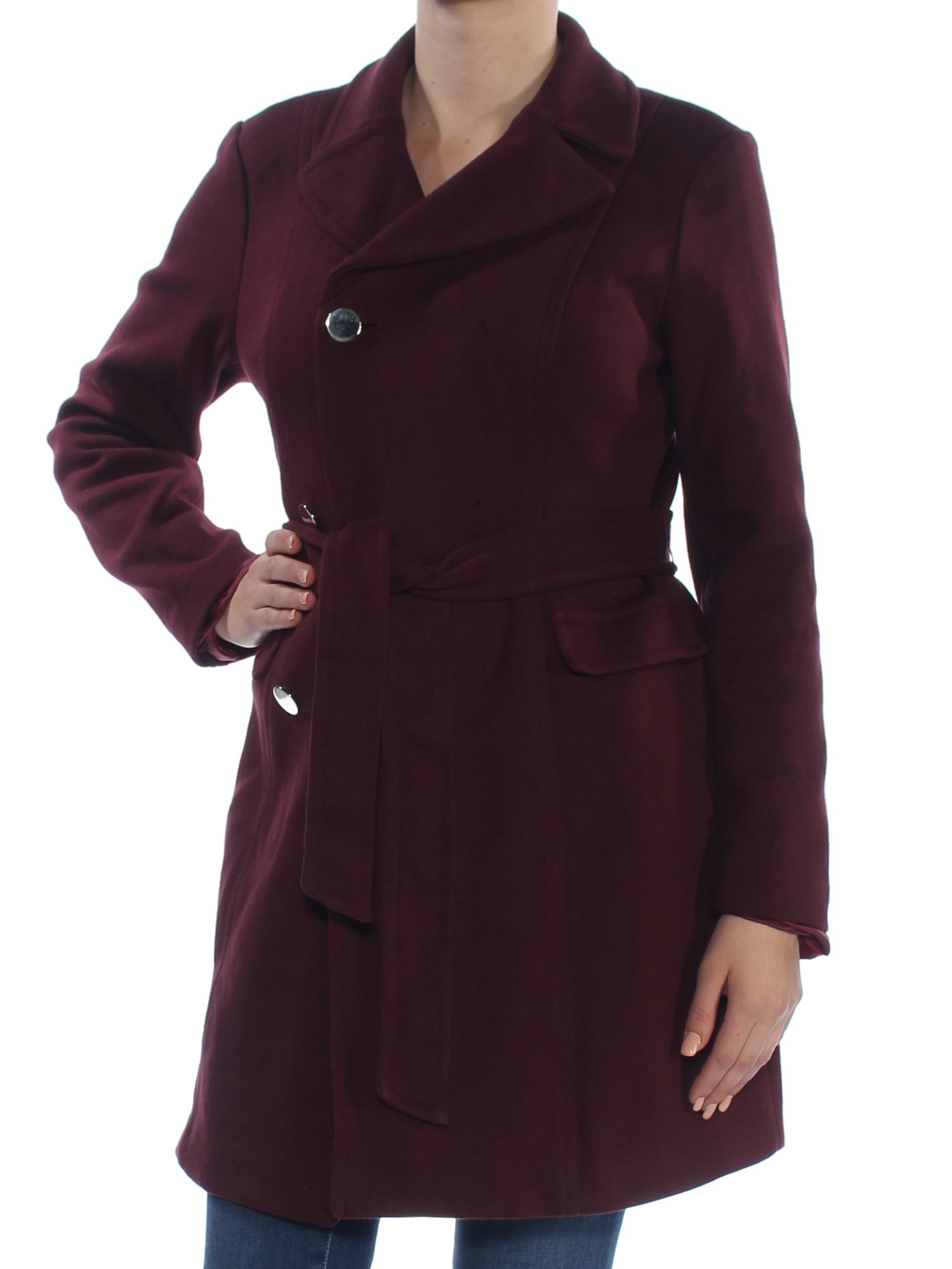 4e8203b0df50b INC  149 Womens New 1272 Burgundy Peacoat Casual Jacket M Plus B+B ...